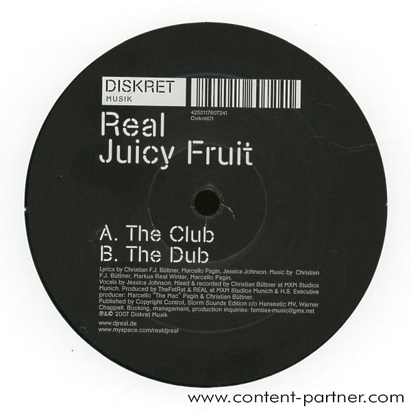 real - juicy fruit