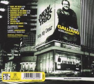 richard galliano - ruby my dear (Back)