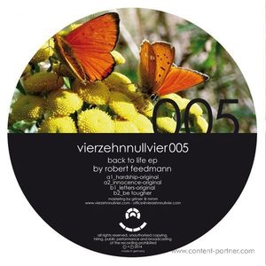 robert feedmann - back to life ep