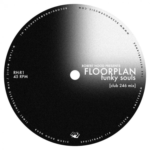 robert hood pres. floorplan - funky souls (2021 Repress!) (Back)