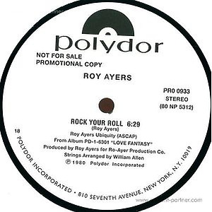 roy ayers - love will bring us back together / rock