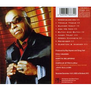 roy haynes - fountain of youth (Back)