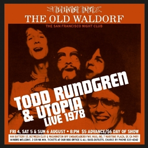 rundgren,todd - live at old waldorf 1978