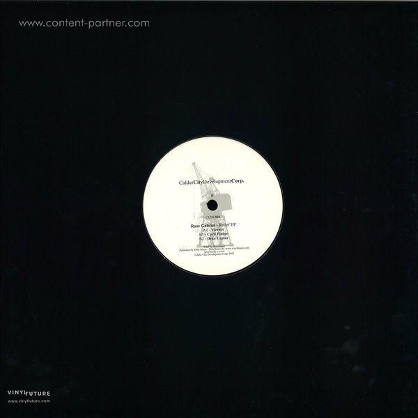russ gabriel - relief ep (Back)