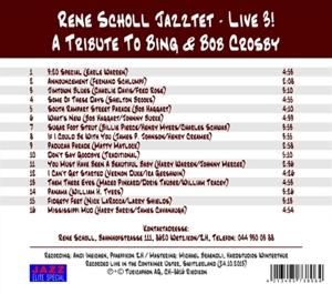 scholl,renejazztet - a tribute to bing & bob (Back)