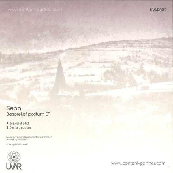 sepp - basorelief postum ep (Back)