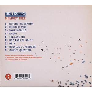shannon,mike - memory tree (Back)