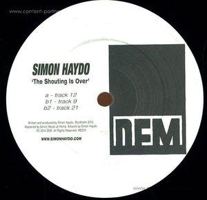 simon haydo - the shouting is over