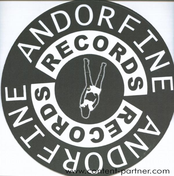 slipmats - andorfine music (logo/ 2=1 pair)