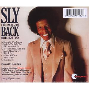 sly & the family stone - back on the right track (remastered) (Back)