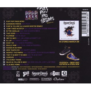 snoop dogg - puff puff pass tuesdays (Back)