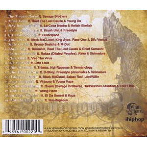snowgoons - the trojan horse (Back)