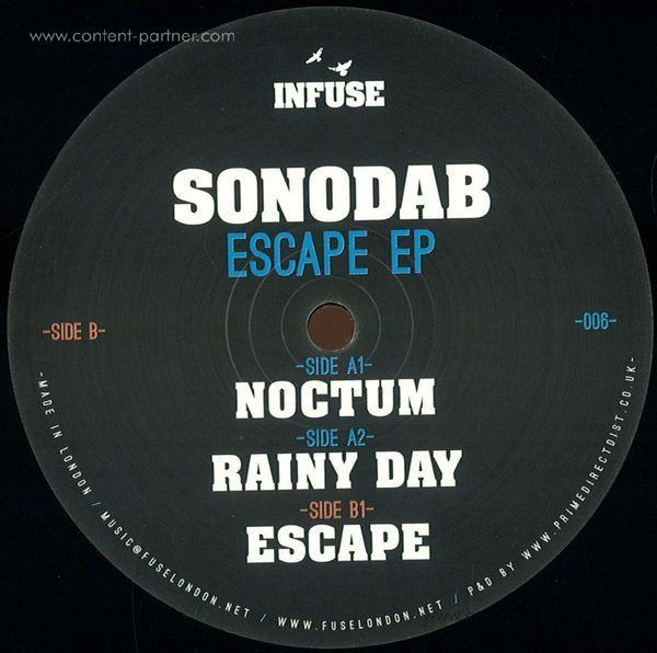 sonodab - escape ep (Back)
