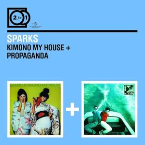 sparks - 2 for 1: kimono my house/propaganda