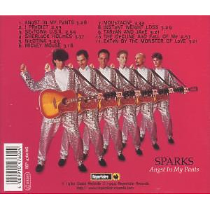 sparks - angst in my pants (Back)
