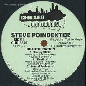 steve poindexter - chaotic nation