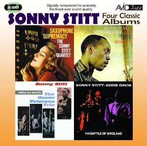 stitt,sonny - 4 classic albums