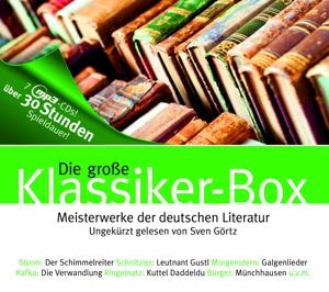 storm,ringelnatz,schnitzler,u.v.m. - die groáe klassiker-box auf 7 mp3-cds
