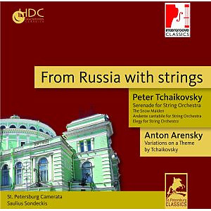 st.petersburg camerata - from russia with strings