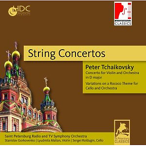 st.petersburg radio and tv symphony orch - string concertos