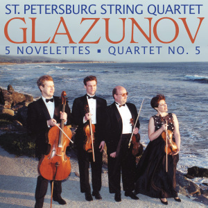 st.petersburg string quartet - glazunov:novelettes for string quartet