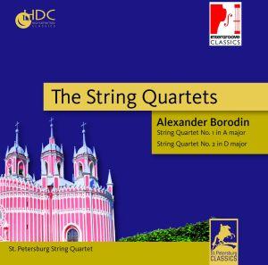 st.petersburg string quartet - the string quartets