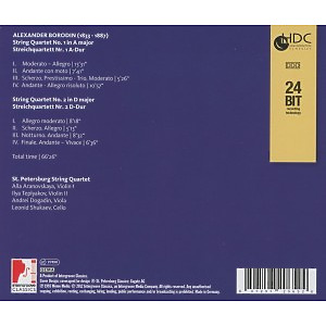 st.petersburg string quartet - the string quartets (Back)