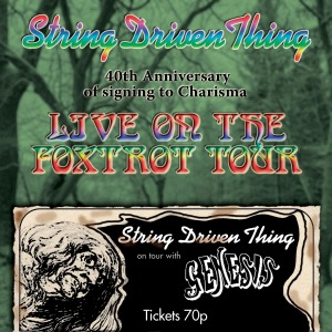string driven thing - live on the foxtrot tour (40th anni