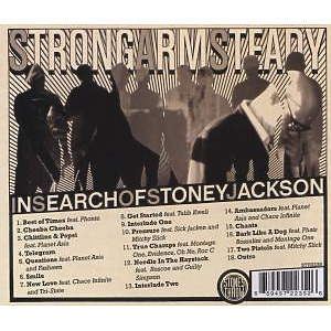 strong arm steady - in search of stoney jackson (Back)