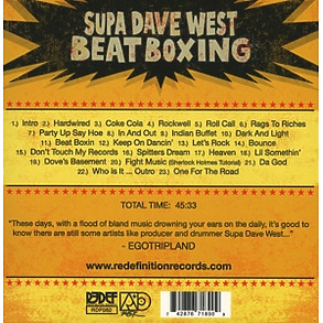 supa dave west - beat boxing (Back)