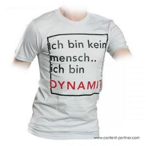 supa tshirt - white - DYNAMIT (M)