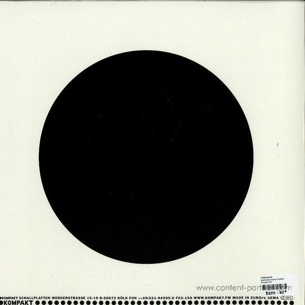 terranova ft. thomas hoffding - question mark remixes (Repress!!) (Back)