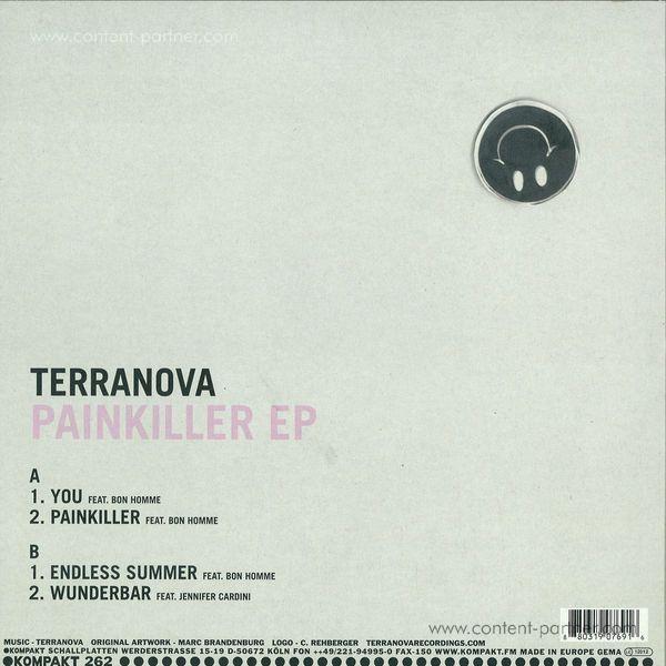 terranova - painkiller ep (Repress) (Back)