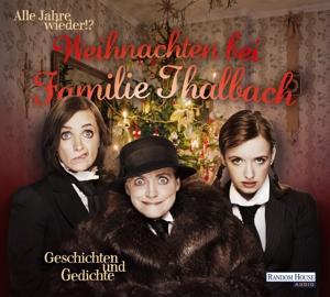 thalbach,katharina/thalbach,anna/thalbac - weihnachten bei familie thalbach