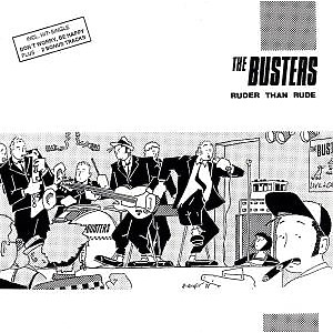 the busters - ruder than rude & bonus