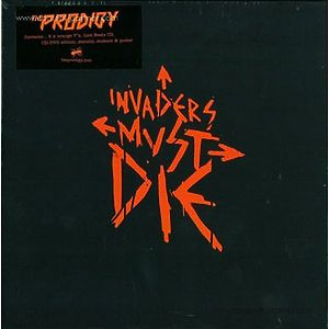 the prodigy - invaders must die (5x7