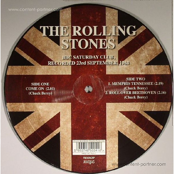 the rolling stones - come on / memphis tennessee (Back)