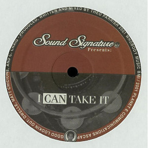 theo parrish - I Can Take It