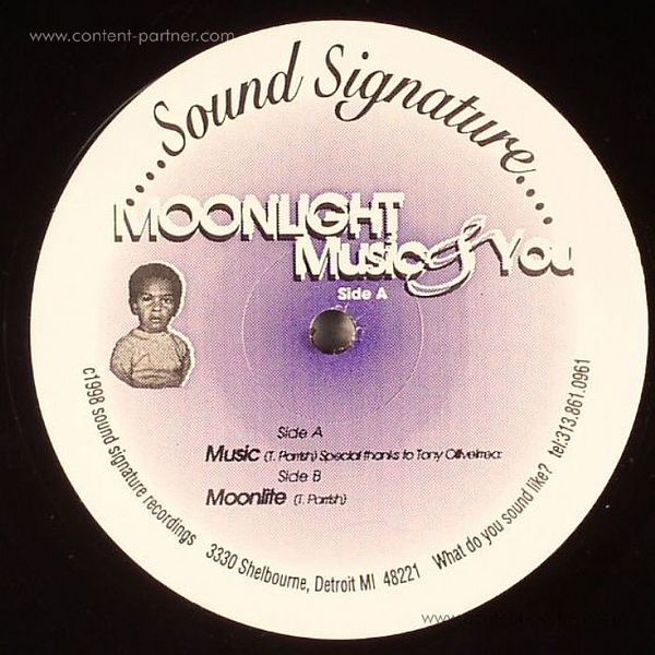 theo parrish - moonlight music & you (Back)