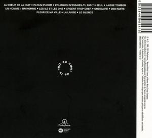 t?l?phone - au coeur de la nuit (remastered2015) (Back)