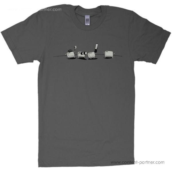 t-shirt, size l - ctrl-esc-remix, graphit