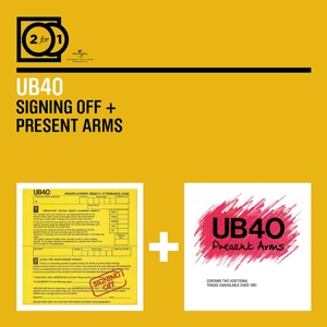 ub40 - 2 for 1: signing off/present arms