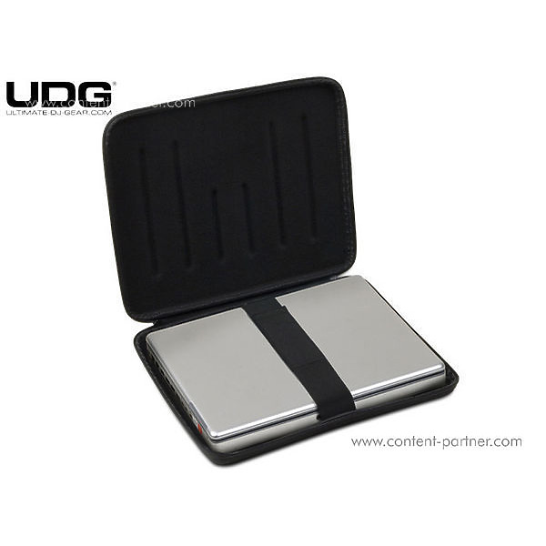 "udg - creator laptop shield 17"" silver (Back)"