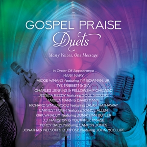 various artist - gospel praise duets: many voices,one mes