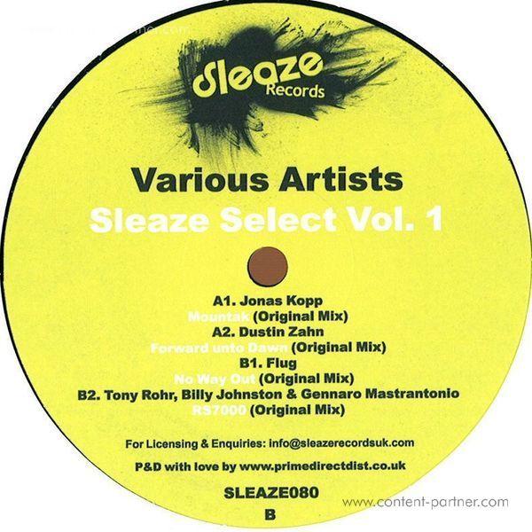 various artists - sleaze select vol. 1