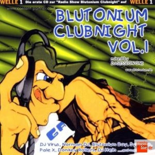 various - blutonium clubnight vol. 1