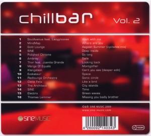 various - chillbar vol.2 (Back)