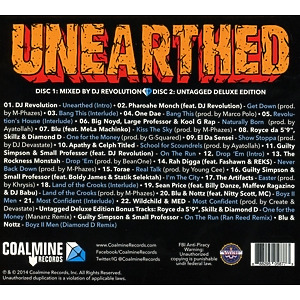 various - coalmine records presents unearthed (Back)
