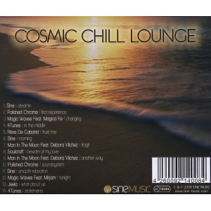 various - cosmic chill lounge vol.2 (Back)
