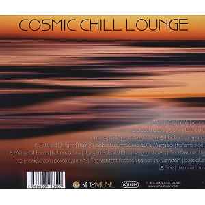various - cosmic chill lounge vol.3 (Back)